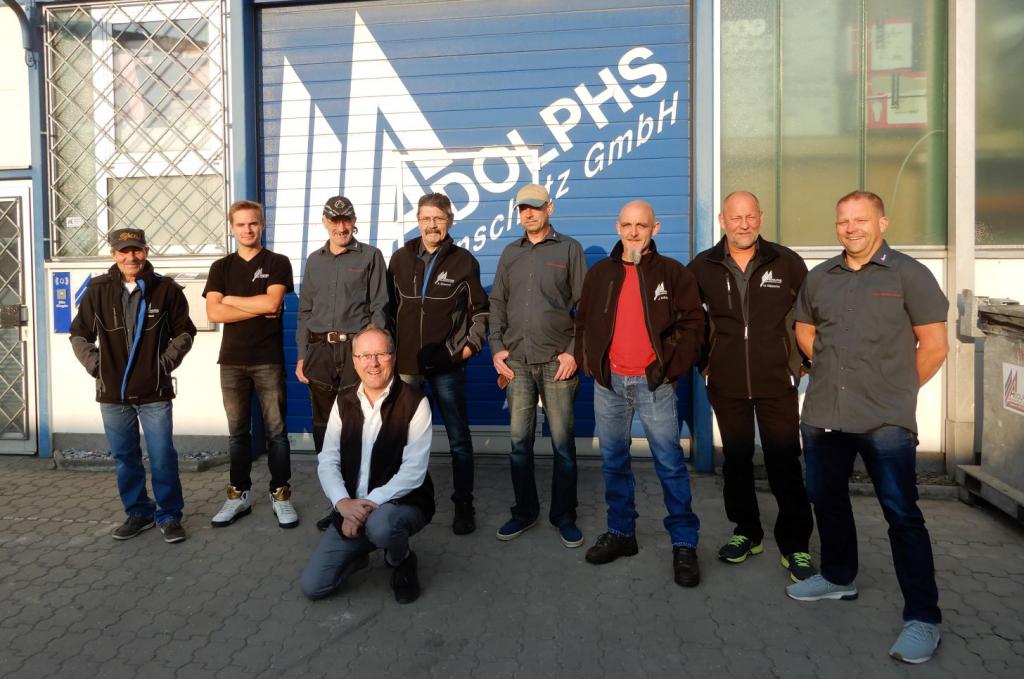 Adolphs Bautenschutz Team