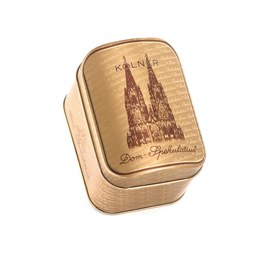 100g Dom-Spekulatius® in der kleinen Dom-Truhe Gold