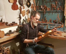 Geigenbaumeister Daniel J. Kress