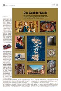 Kölner Rundschau vom 4. September von Michael Fuchs Das Gold der Stadt